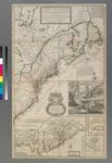 A new and exact map of the dominions of the King of Great Britain on ye continent of North America