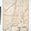 Carte du theatre de la guerre entre les Anglais et les Américains ; dressée d'aprés les cartes anglaises les plus modernes