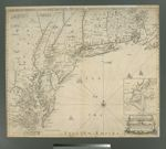 A new map of New England, New York, New Iarsey, Pensilvania, Maryland, and Virginia