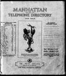 Manhattan Telephone Directory